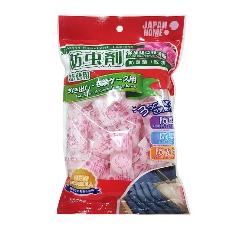 JAPAN HOME防蟲劑散裝保加利玫瑰味250克