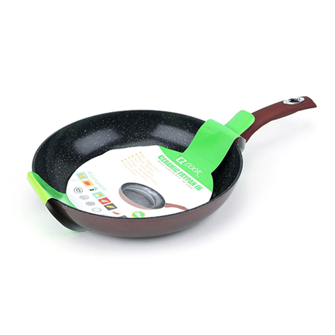 EZ Cook 鋁合金陶瓷層易潔煎鍋 30cm