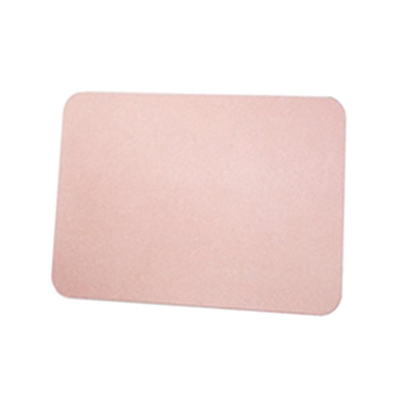 粉色珪藻土吸水墊