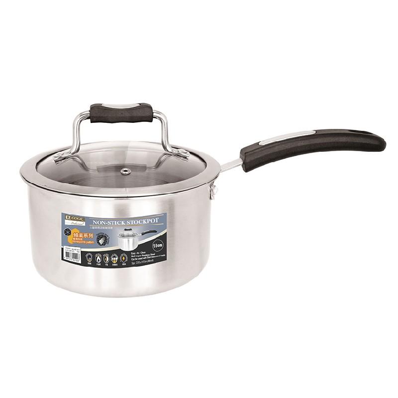 EZ Cook Pro.三層鋼易潔蜂巢柄煲