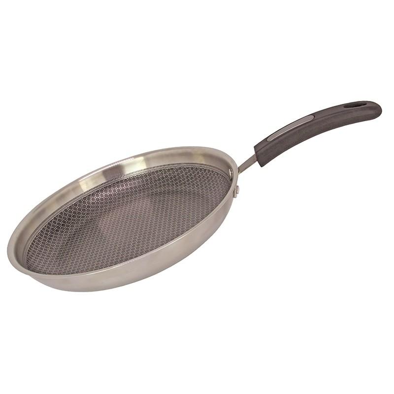 EZ Cook Pro.三層鋼易潔蜂巢煎鍋