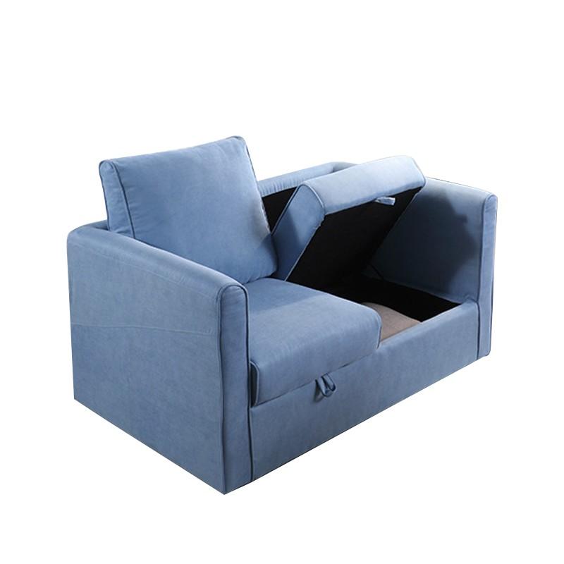 MR歐式多功能布藝沙發MR-1031 藍色