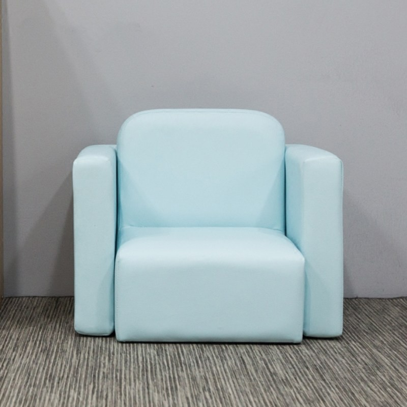 MR多功能小沙發/桌椅套裝SF-574藍色