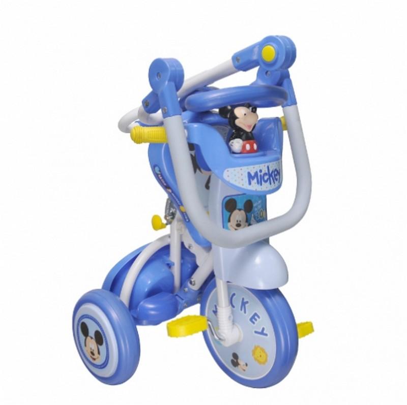 Baby StarDisney Micky 推控前圍摺合三輪車