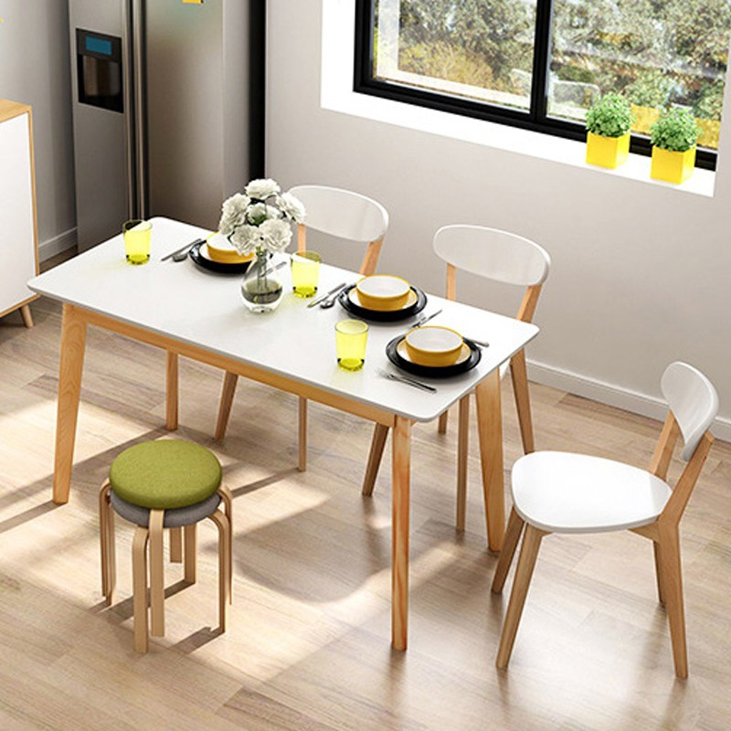 MR北歐餐桌MR-60100 60cm 白色(不包括餐椅)