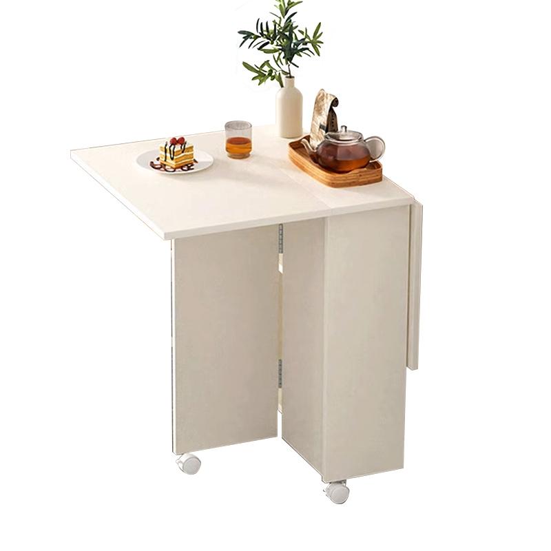 MR1.0米移動版摺疊餐桌WT043-6白色 (不包椅子)