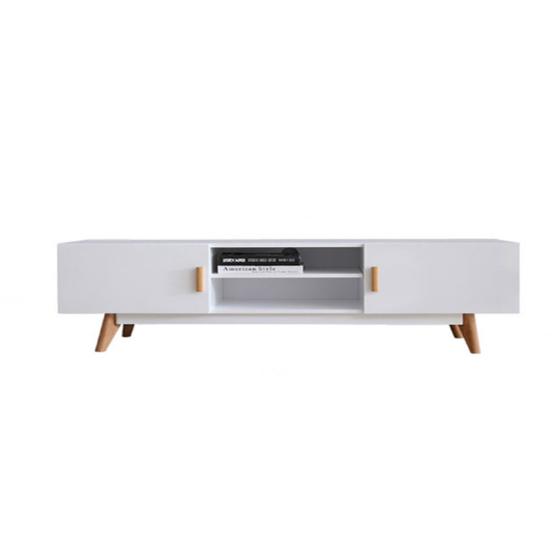 MR北歐1.2米簡約儲物電視櫃地櫃MR-88039白色