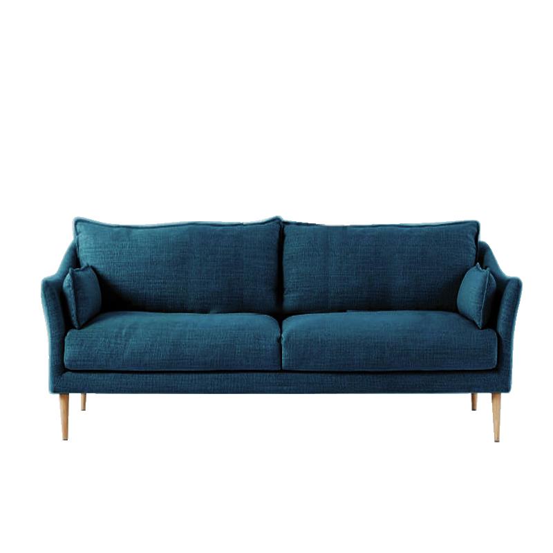 MR休閑布藝梳化MR-8888雙人位 藍色