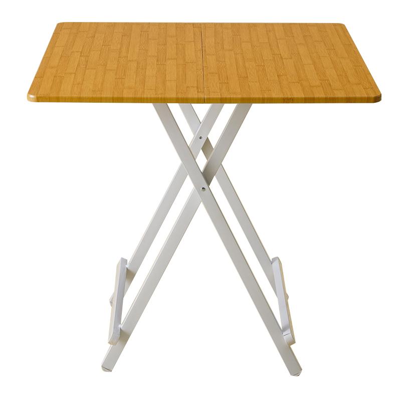 MR便攜式折叠方桌MR-7875竹紋色