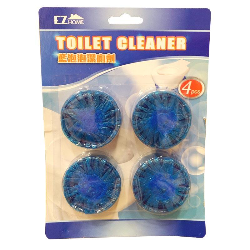 JAPAN HOME藍泡泡潔廁丸4個裝