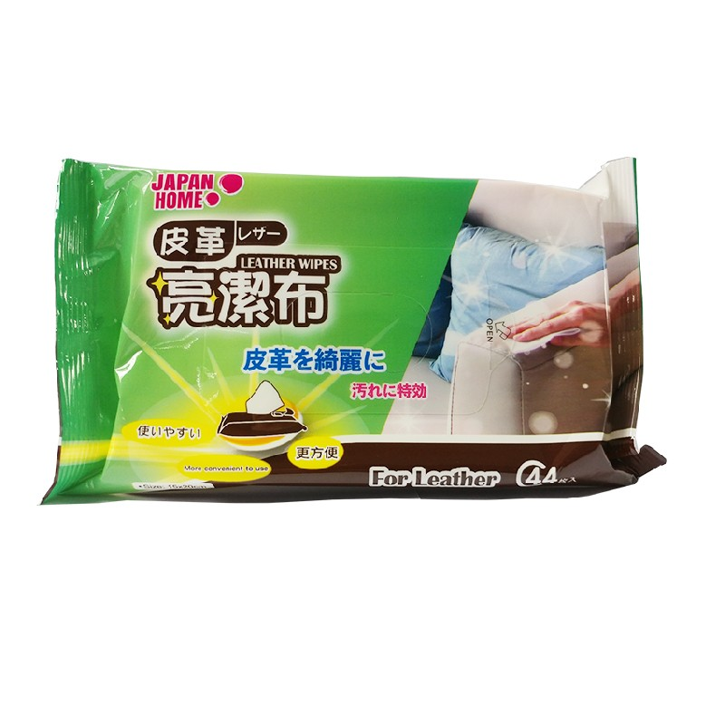 Japan HomeLeather Cleaning Wipes 44pcs