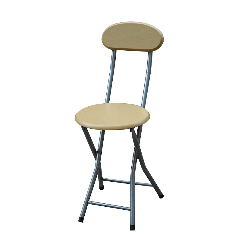 EZ HOME木面靠背摺椅