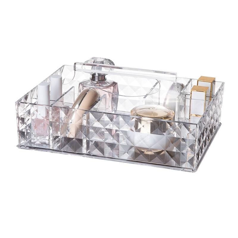 NAXOS亞加力手提化妝品收納盒