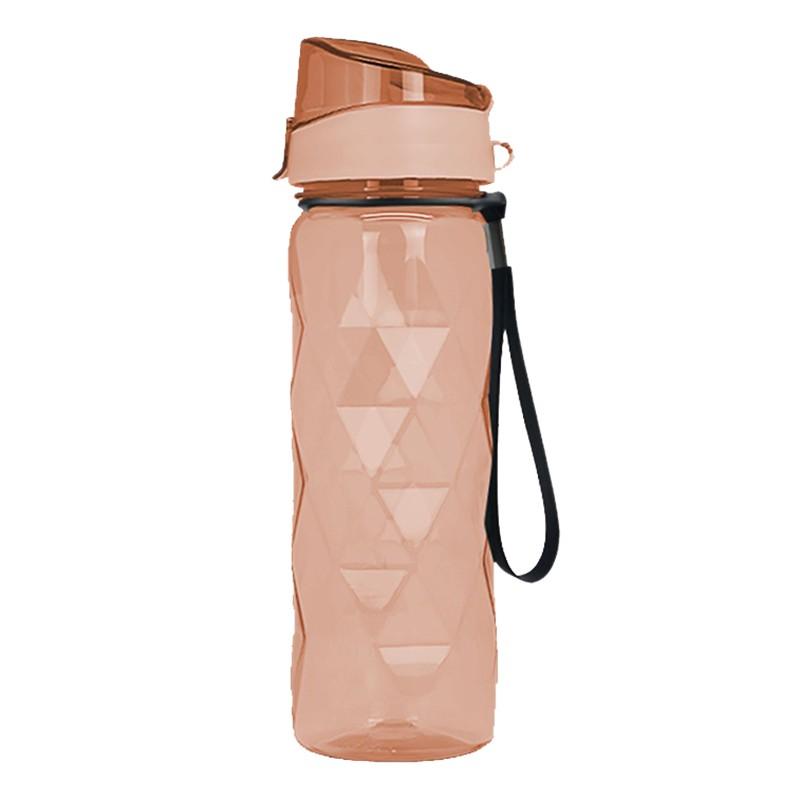 Polebear粉紅透明運動水樽