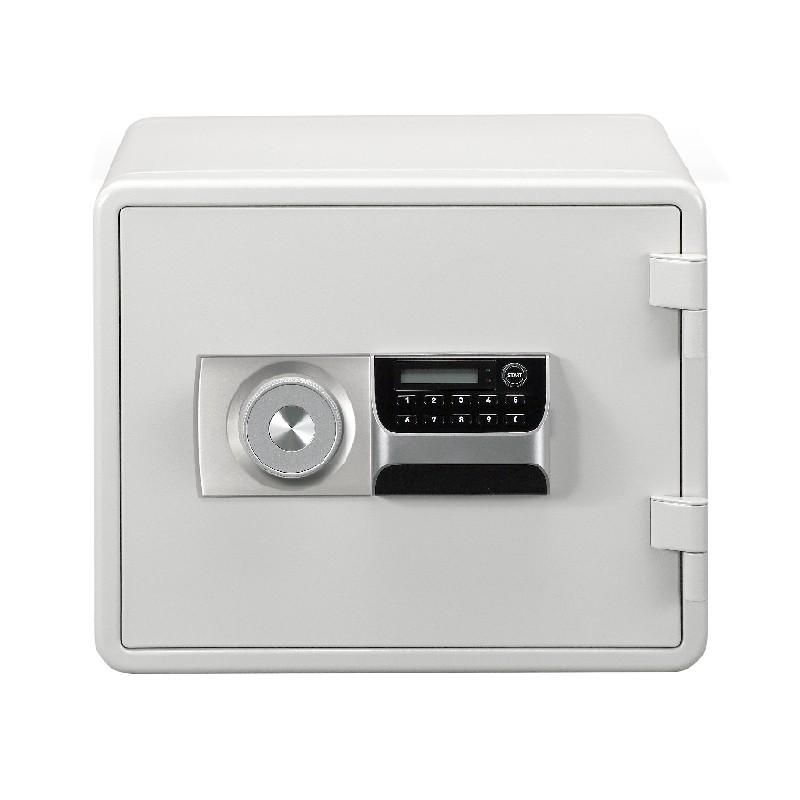 鷹金庫防火金庫 白色* 電子密碼+鎖匙 VM-021DK