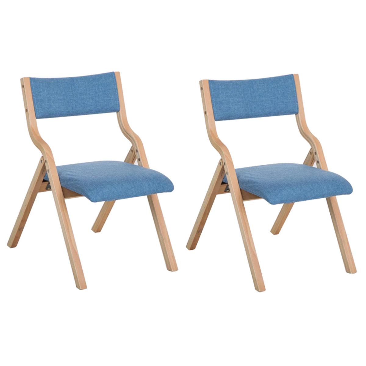 MR2張實木摺疊椅