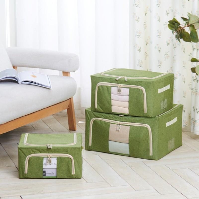 EZ HOME布藝儲物箱 綠 (中號)
