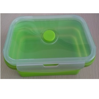 EZ COOK摺疊食物盒(中) 700ml(顏色隨機)