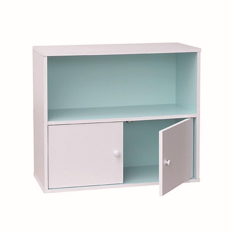 EZ HOME雙層儲物柜連門 70.2x29x60cm