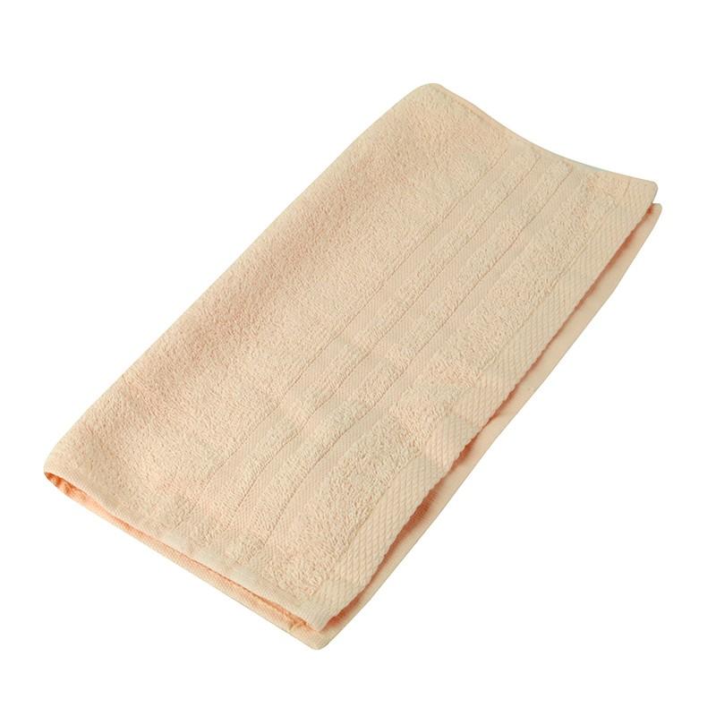 KATO淨色方巾-粉橙色