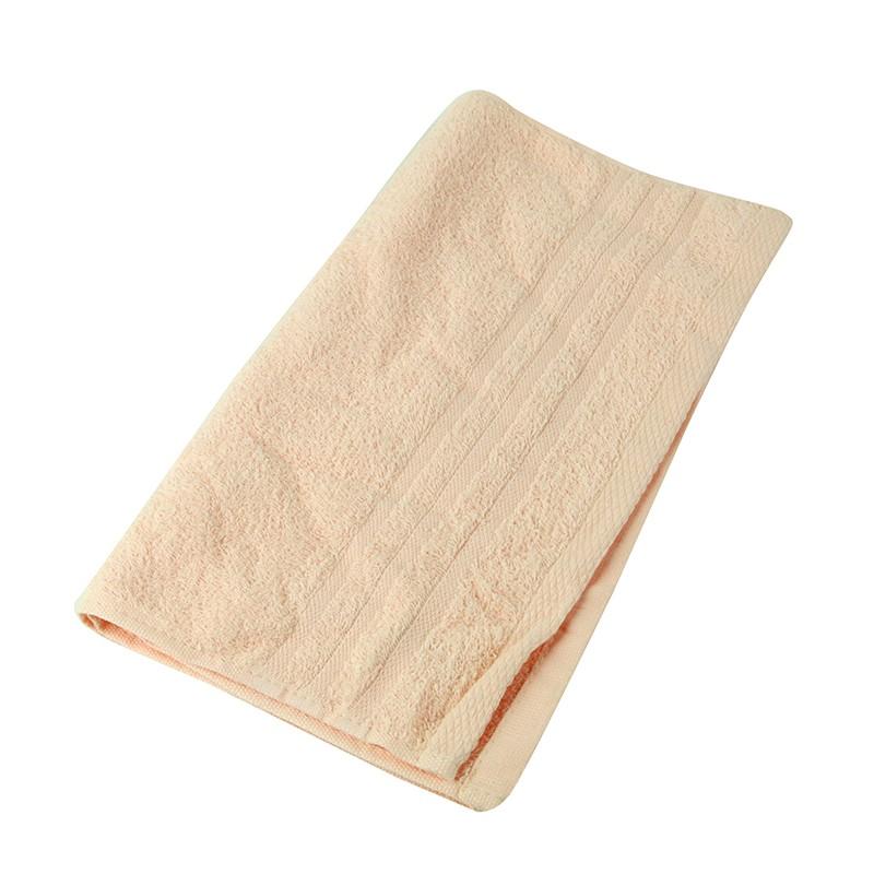 KATO淨色毛巾-粉橙色