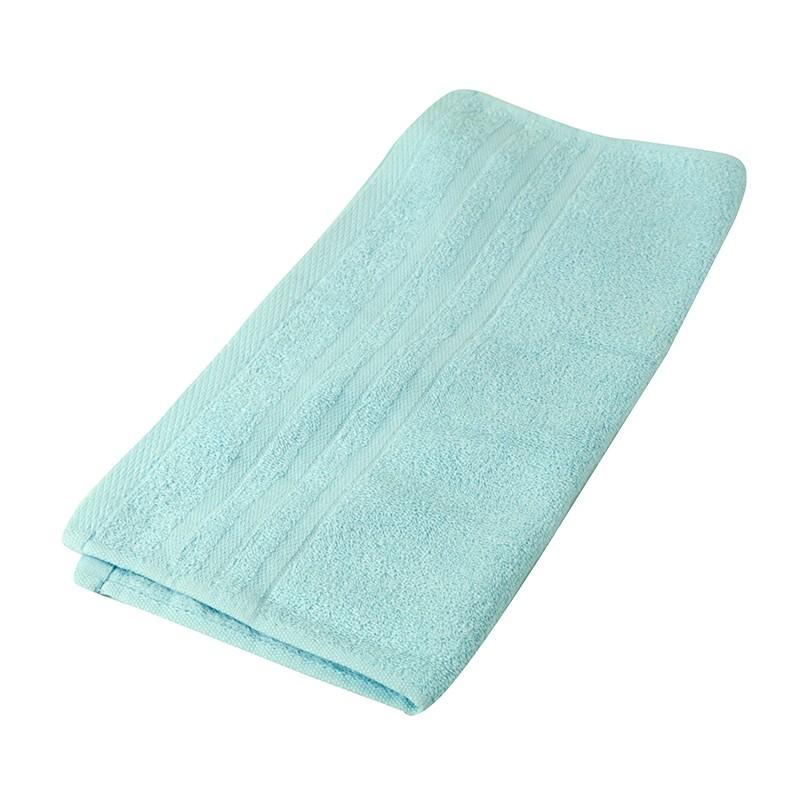 KATO淨色方巾-粉藍色