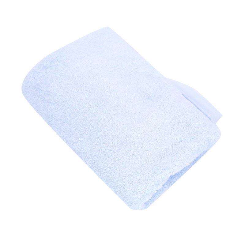 KATO竹纖維浴巾粉藍