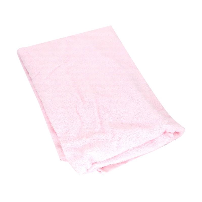 KATO竹纖維浴巾粉紅