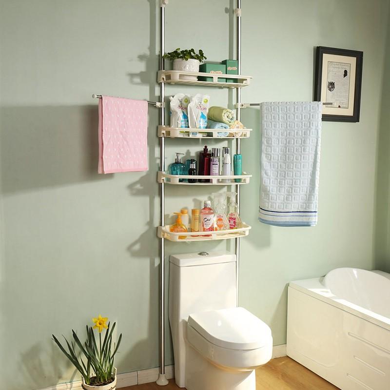 頂天立地頂天立地四層浴室馬桶架 (自行組裝)
