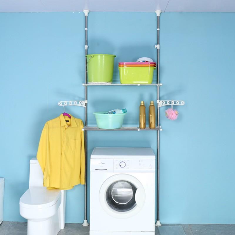 頂天立地頂天立地兩層洗衣機置物架 (自行組裝)