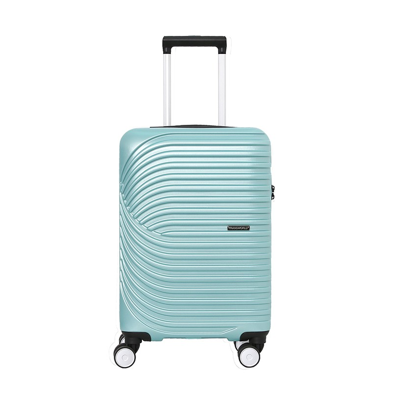 """20""""360度淺藍靜音輪行李箱"""