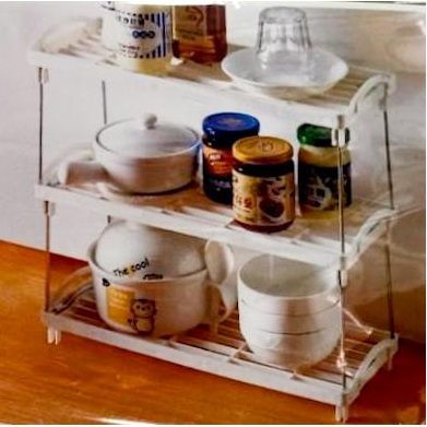 可疊式碗碟架