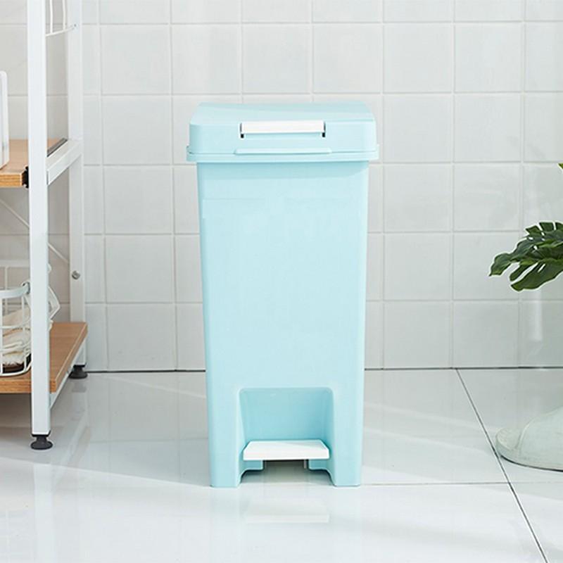 20升藍色腳踏垃圾桶