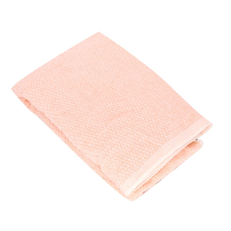 KATO彩棉浴巾粉紅