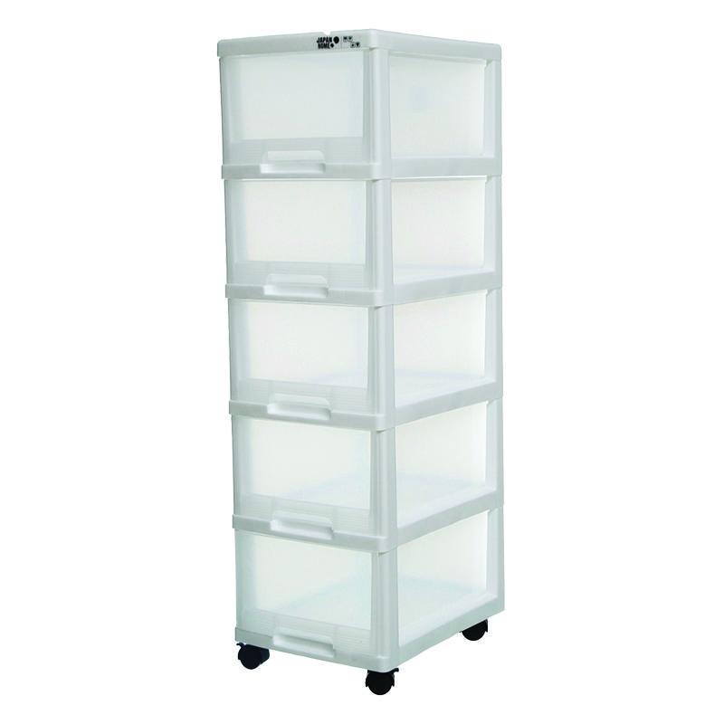 Japanhome5層白色收納柜