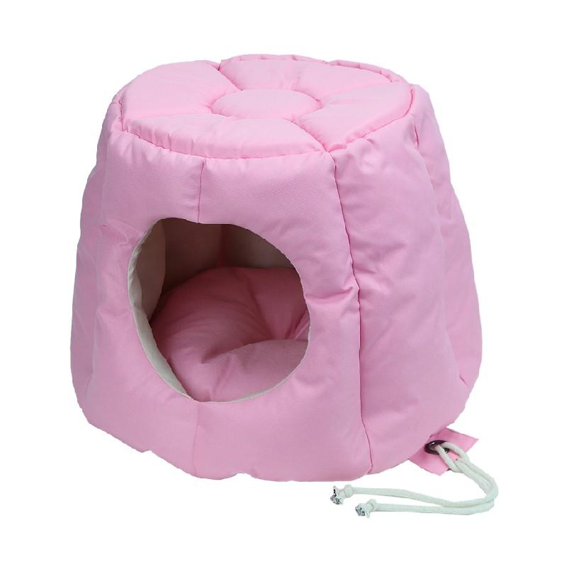 太空艙兩用寵物窩牛津布太空艙兩用寵物窩 - 粉紅