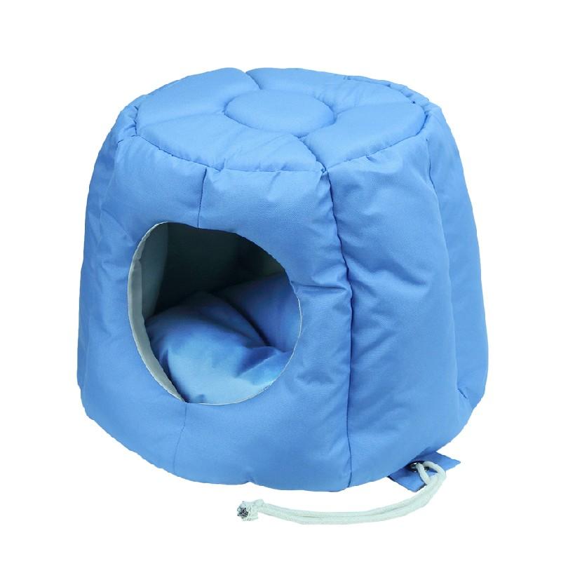 太空艙兩用寵物窩牛津布太空艙兩用寵物窩 - 藍色