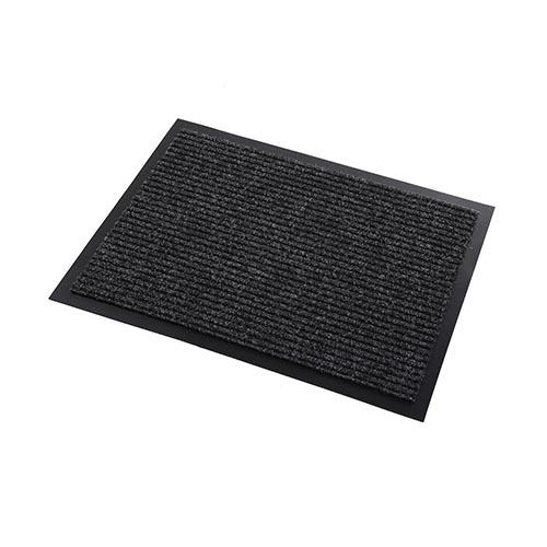 台灣製條紋門口墊台灣製造條紋門口墊 - 黑 45x75cm