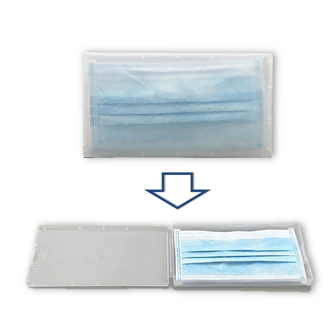 Plastic口罩收納盒
