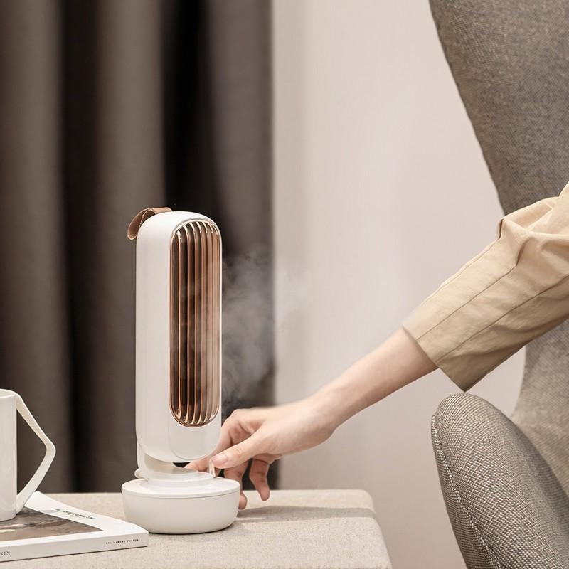 2合1 USB冷霧扇/加濕器-白色