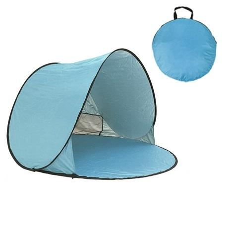 自動速開 沙灘2人帳篷-淺藍自動速開 沙灘2人帳篷-淺藍