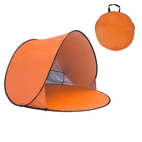 自動速開 沙灘2人帳篷-橙色自動速開 沙灘2人帳篷-橙色