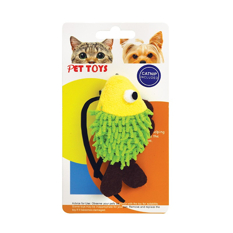 魚形貓玩具