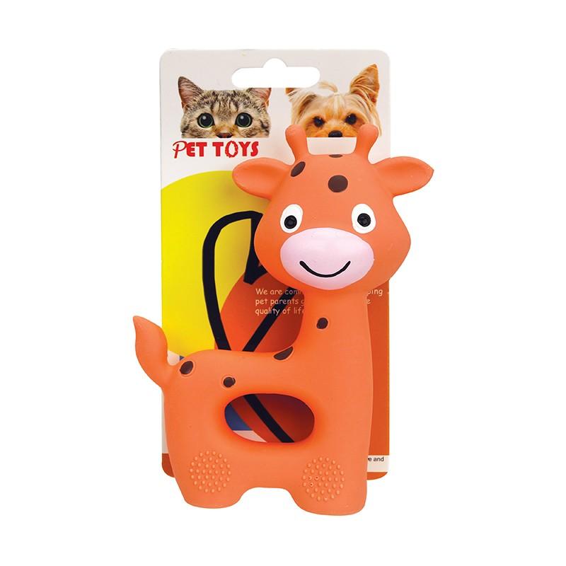 長頸鹿形狗玩具