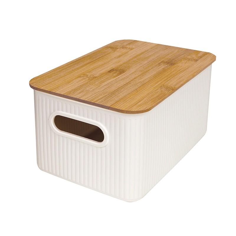 JAPANHOME竹蓋儲物箱-細