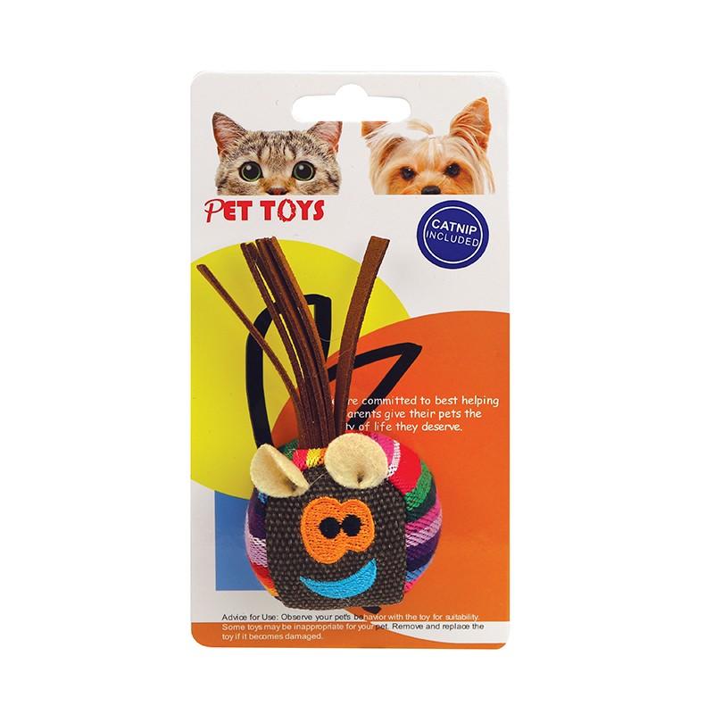 球形笑臉貓玩具