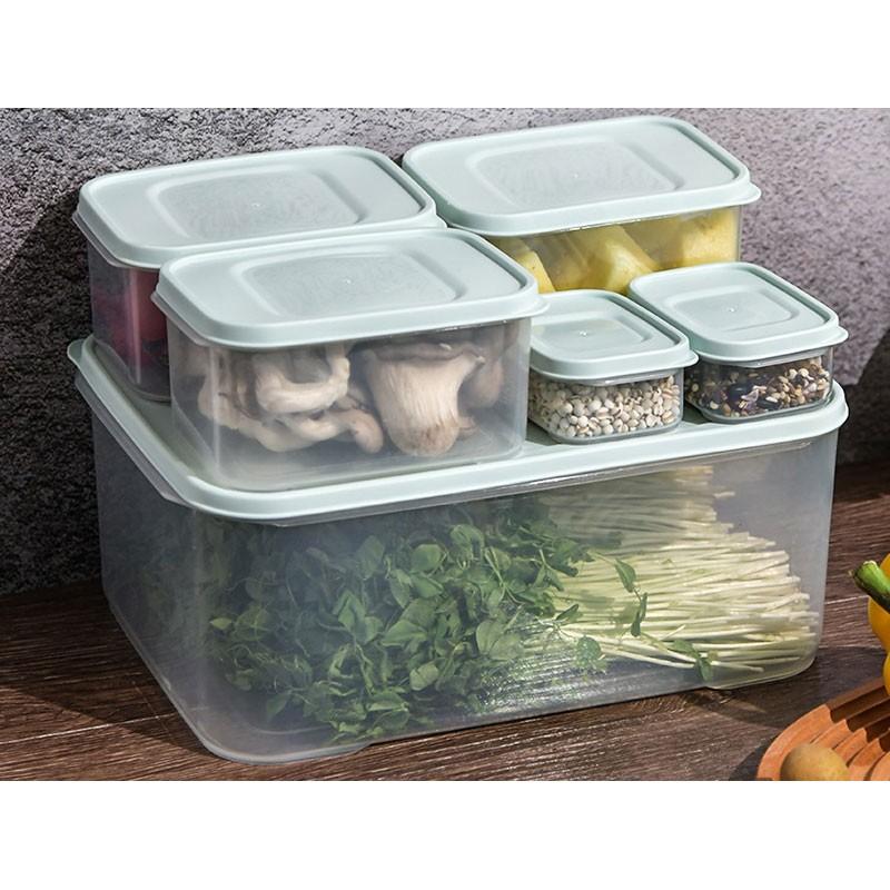 SUPERSAVER6件裝抗菌食物盒