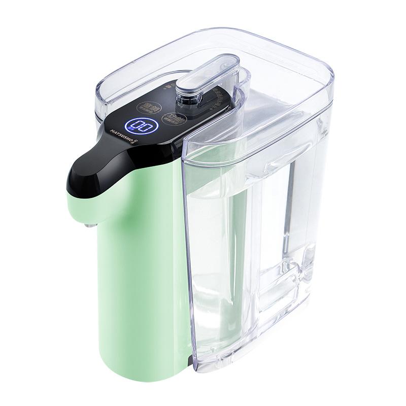 松井3秒即熱飲水機, 5段溫度 - 抹茶綠