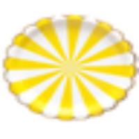 "FESTIVAL黃色7""紙碟八隻裝"