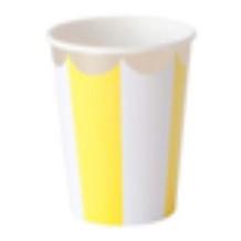 FESTIVALFESTIVAL紙杯八隻裝(黃色)